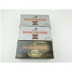 WINCHESTER 222 REM AMMO ASSORTED