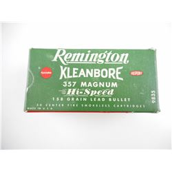 REMINGTON 357 MAG AMMO