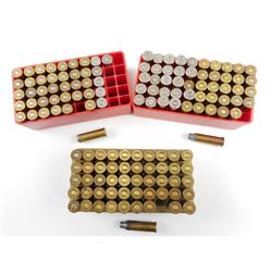 38 SPL RELOADED AMMO IN PLASTIC CASES