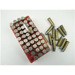 38 AUTO, 38 SPL RELOADED, ASSORTED AMMO