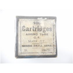 MORRIS AIMING TUBE CARTRIDGES 297/230 MORRIS TUBE 'RARE'