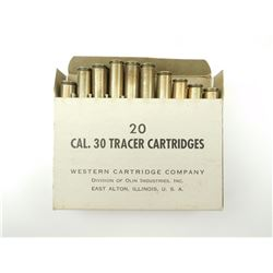 US MILITARY .30-06 SPRINGFIELD M25 TRACER AMMO