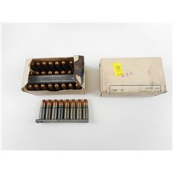 7.62 X 25MM AMMO, ON STRIPPER CLIPS