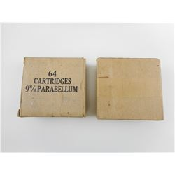 WWII CANADIAN MILITARY 9MM AMMO