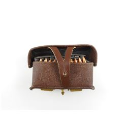 7.62 X 39 ON STRIPPER CLIPS, IN AMMO POUCH