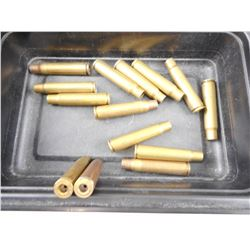 8MM MAUSER (7.92 X 57MM) ONCE FIRED BRASS CASES