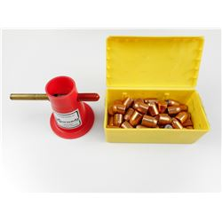 SPEER 50 CAL BULLETS, HORNADY POWDER TRICKLER