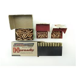 BULLETS ASSORTED, 30-30, 7MM, 22 CAL