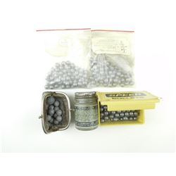 BULLETS ASSORTED ROUND BALL