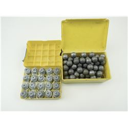 .54 CAL BULLETS AND BALL