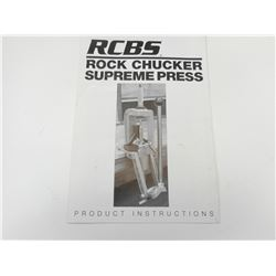 RCBS ROCK CHUCKER SUPREME PRESS