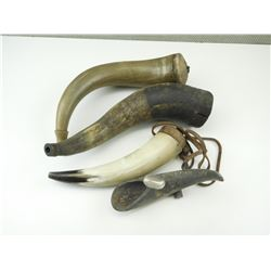 POWDER HORNS ASSORTED