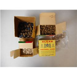 12 GA, 16 GA, .410 GA ASSORTED SHOTSHELL WADS