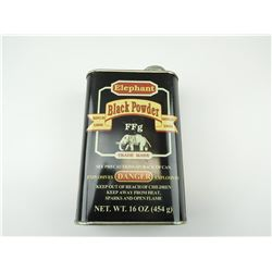 ELEPHANT BLACK POWDER TIN