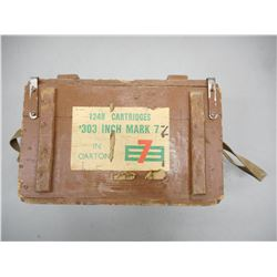WWII CANADIAN .303 INCH MK7Z AMMO CRATE