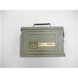 "WWII U.S. MILITARY AMMO CAN MFG. ""REEVES"""