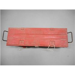 METAL AMMO TIN, RED