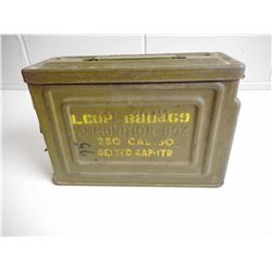U.S. METAL AMMO TIN