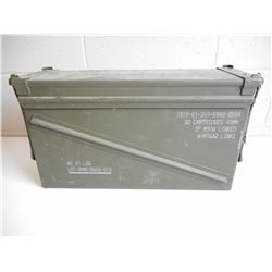 U.S.A. MILITARY AMMO CAN
