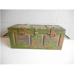 1942 DATED AMMO TIN