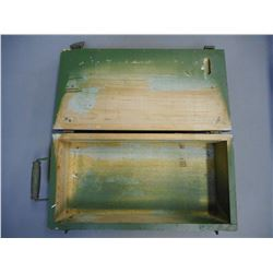 MILITARY AMMO BOX, GREEN