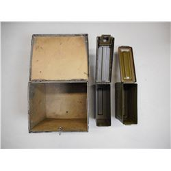 METAL AMMO TINS, METAL MUTUAL FILM CORP BOX
