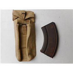 BREN GUN MAGAZINE & MAGAZINE POUCH