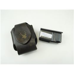 .308, .243 & 250-3000 CAL. MAGAZINE FOR SAVAGE RIFLE WITH CASE.