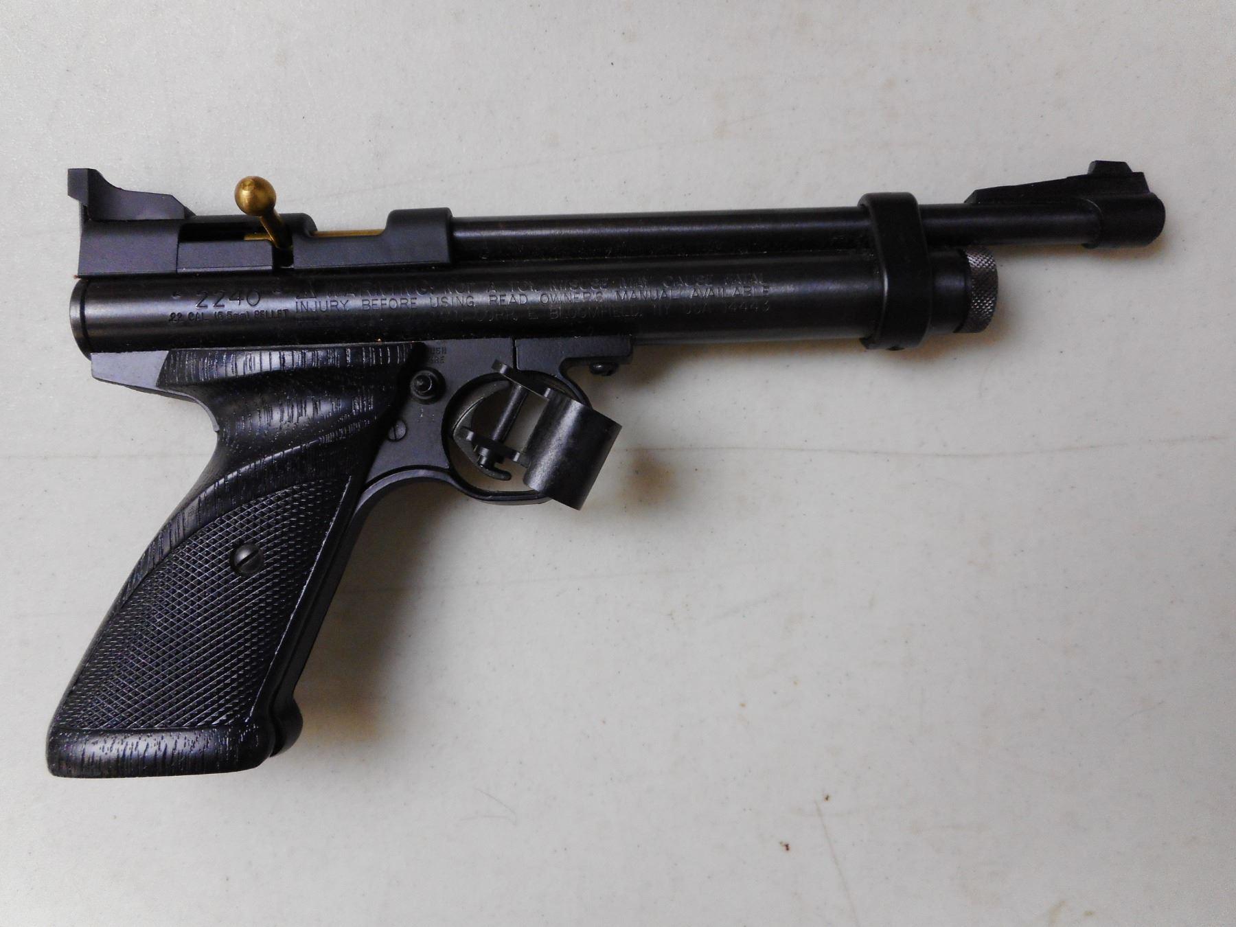 CROSMAN MODEL 2240  22 CAL PELLET GUN