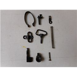 ASSORTED LEE ENFIELD NO 4 RIFLE PARTS