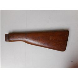 WOODEN BUTT STOCK FOR MARTINI HENRY