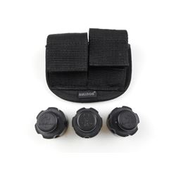 .38 SPL CAL SPEED LOADERS & POUCH FOR K FRAME S&W
