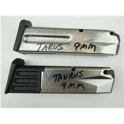 9MM CAL MAGAZINES FOR TAURUS