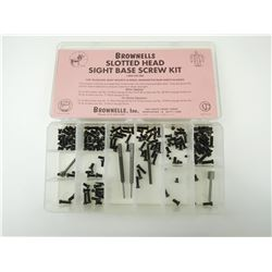 BROWNELLS SLOTTED HEAD SIGHT BASE SCREW KIT