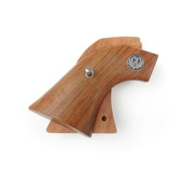 RUGER WOODEN VAQUERO GRIPS WITH EMBLEM