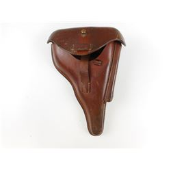 WWII GERMAN P08 LUGER PISTOL HOLSTER RARE POLICE ISSUE