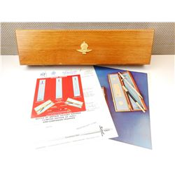 WWII COMMEMORATIVE BATTLE OF BRITAIN DAGGER WITH BOX & PAPERWORK