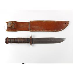 U.S.M.C. PAL FIGHTING KNIFE & SHEATH