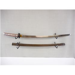 WWII JAPANESE NCO SWORD WITH SCABBARD