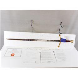 COMMEMORATIVE WILKINSON R.C.M.P. CENTENNIAL SWORD OF HONOUR WITH PAPERWORK