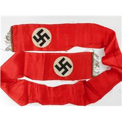 WWII GERMAN FUNERAL WREATH RIBBON