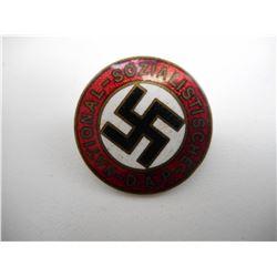 WWII GERMAN N.S.D.A.P. ENAMELLED BADGE