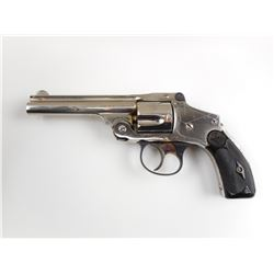 SMITH & WESSON , MODEL: 38 SAFETY HAMMERLESS FOURTH MODEL  , CALIBER: 38 S&W