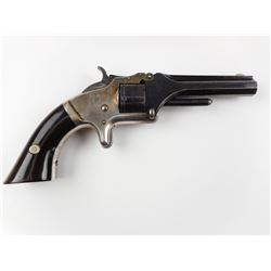 SMITH & WESSON , MODEL: TIP UP 22 NO. 1 ISSUE , CALIBER: 22 SHORT
