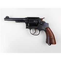 SMITH & WESSON ,  MODEL: HAND EJECTOR 38 MILITARY & POLICE MODEL 3 OF 1905 CHANGE 4,  CALIBER: 38 S&
