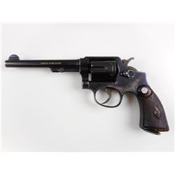 WWII ERA, SMITH & WESSON ,  MODEL: HAND EJECTOR 38 MILITARY & POLICE MODEL 3 OF 1905 CHANGE 4,  CALI