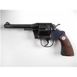 COLT,  MODEL: OFFICIAL POLICE,  CALIBER: 38 SPECIAL