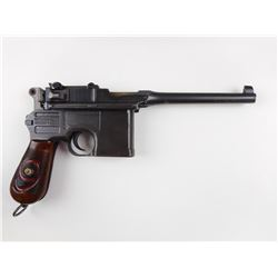 MAUSER ,  MODEL: C96 BROOMHANDLE RED 9,  CALIBER: 9MM LUGER