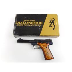 BROWNING ,  MODEL: CHALLENGER III,  CALIBER: 22 LR