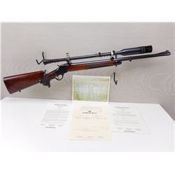 EXTREMLEY RARE, GRIFFIN & HOWE,  MODEL: CUSTOM WINCHESTER HIGHWALL RIFLE ,  CALIBER: 25 KRAG